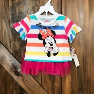 Minnie Mouse top with tutu